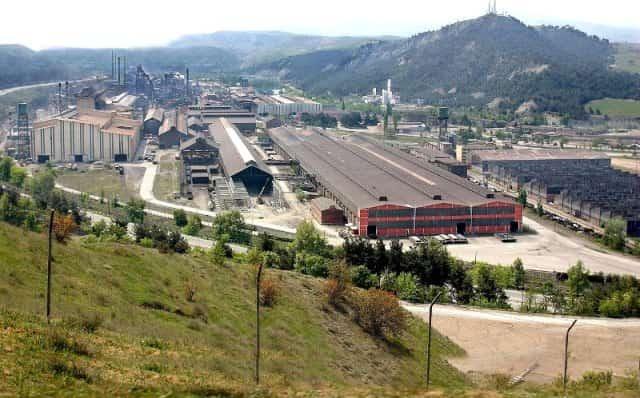 Karabük Demir Çelik Fabrikasi Uydu Görüntüsü