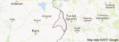 Kars Akyaka Uydu Görüntüsü Uydu Haritası