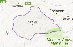 Kemah Uydu Görüntüsü Uydu Haritası Erzincan
