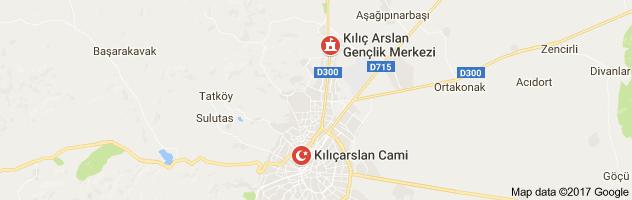 Kılıçarslan Meydanı Uydu Görüntüsü Uydu Haritası Konya
