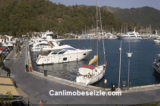 Muğla Marmaris Yat Limanı Canlı Mobese izle