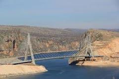 Adıyaman Nissibi Köprüsü Havadan Kamera İzle