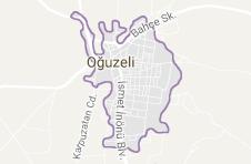 Oğuzeli Uydu Görüntüsü Uydu Haritası Gaziantep
