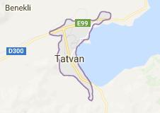 Tatvan Uydu Görüntüsü Uydu Harita Bitlis