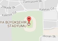 Torku Arena Stadyum Uydu Görüntüsü Uydu Haritası