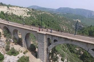 Varda Köprüsü Havadan Kamera Görüntüsü İzle