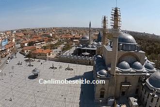 Mevlana Meydanı Hava Kamera Görüntüleri İzle