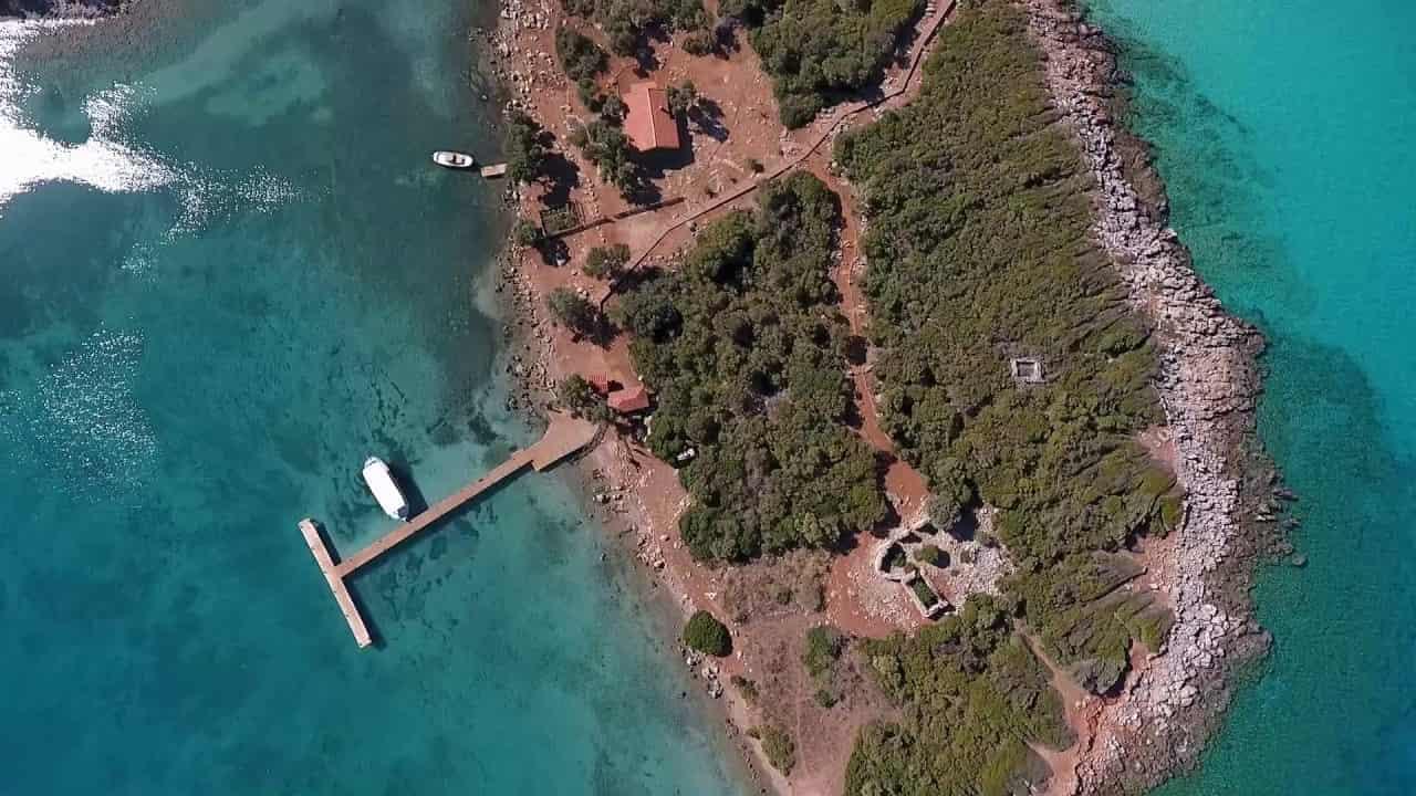 Sedir Adası Havadan Kamera Görüntüleri İzle