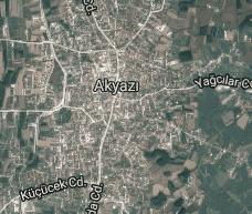 Sakarya Akyazı Uydu Görüntüsü Uydu Haritası