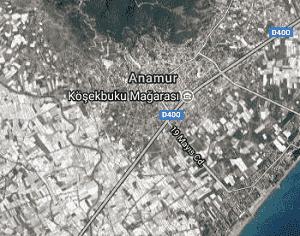 Mersin Anamur Uydu Görüntüsü Haritası