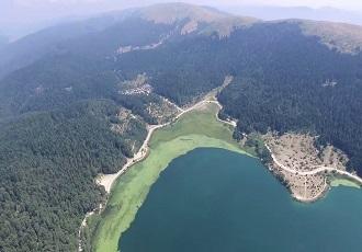 Bolu Abant Gölü Havadan Kamera Görüntüsü İzle