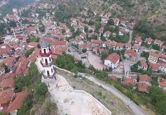 Bolu Akşemseddin Türbesi Havadan Kamera Görüntüsü İzle