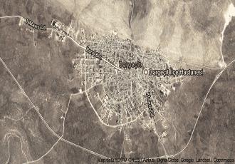 Mardin Dargeçit Uydu Görüntüsü Haritası