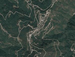 Ordu Kabadüz Uydu Görüntüsü Haritası