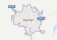 Kırşehir Kaman Uydu Görüntüsü ve Haritası İzle