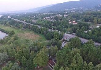 Sakarya Sapanca Gölü Havadan Kamera Görüntüsü İzle
