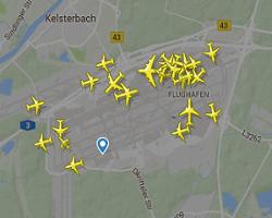 Frankfurt Havalimanı Canlı Uçuş Uçak Takibi