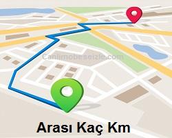 İstanbul – Ankara arası kaç km