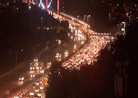 İstanbul Tem Fatih Sultan Mehmet Köprüsü Gişeler Canlı Mobese İzle