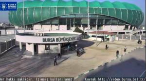 Bursa Büyükşehir Stadyumu Önü Canlı Mobese İzle