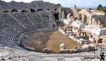 Manavgat Antik Tiyatro Sanal Tur İzle