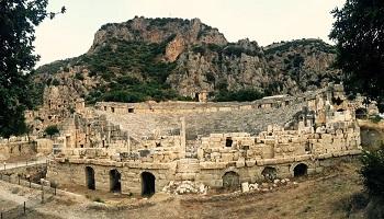 Demre Myra Antik Kenti Sanal Tur İzle