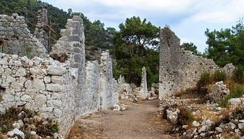 Kumluca Olimpos Antik Kenti Sanal Tur İzle