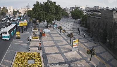 Kayseri Hunat Caddesi Canlı Mobese İzle
