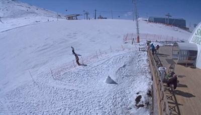 Erzurum Palandöken Kayak Merkezi Küre Önü Canlı Mobese İzle