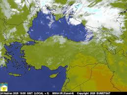 Türkiye Kızılötesi Hava Durumu Uydu
