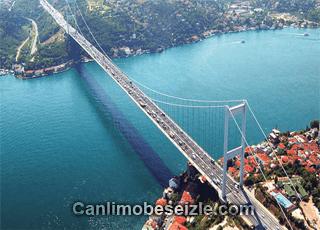 Şehitler Köprüsü canli mobese kamera izle