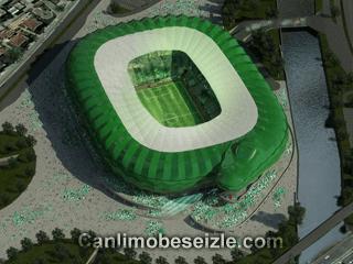 Bursaspor Timsah Arena canli izle