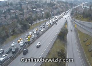 İstanbul D 100 Boğazici Avrupa canlı mobese izle