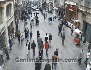 İstanbul İstiklal Caddesi canlı izle